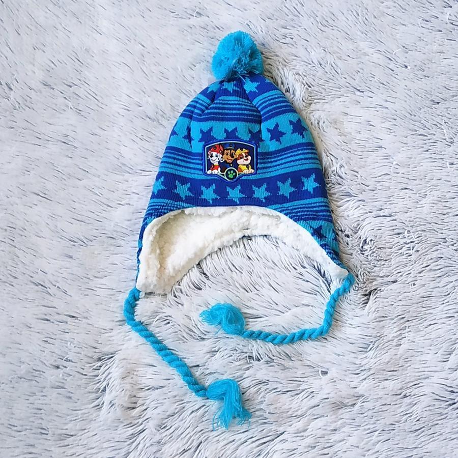 Peru čepice Tlapková Patrola modrá 54