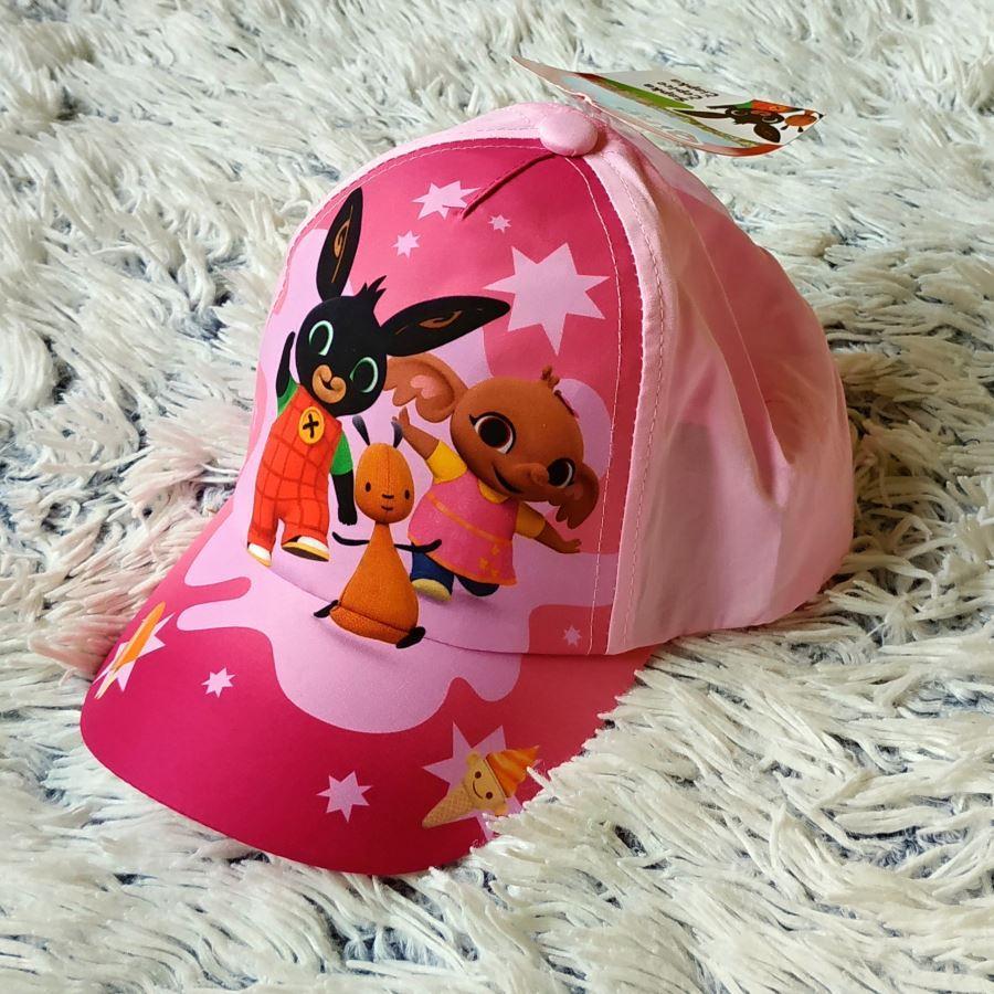 Kšiltovka králíček Bing světle růžová