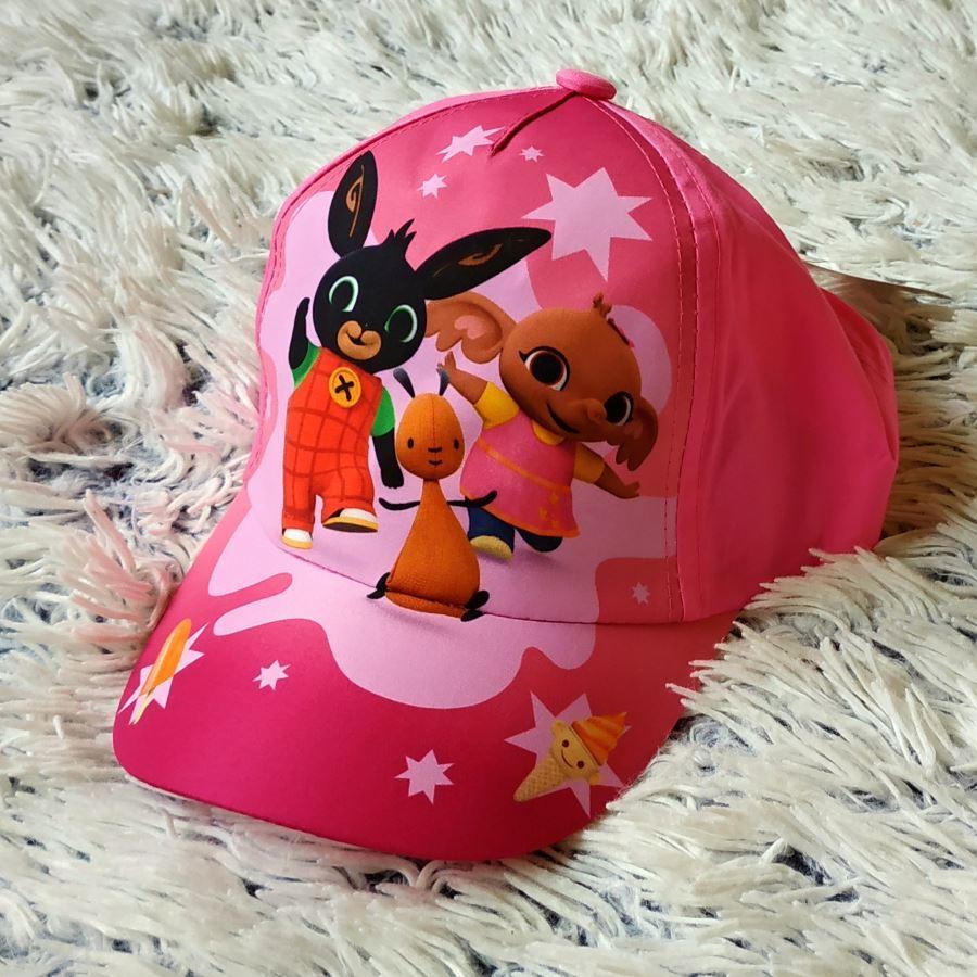 Kšiltovka králíček Bing růžová