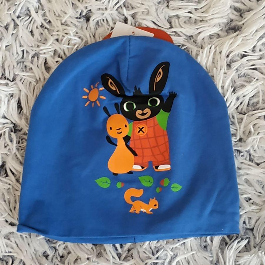 Čepice králíček Bing modrá