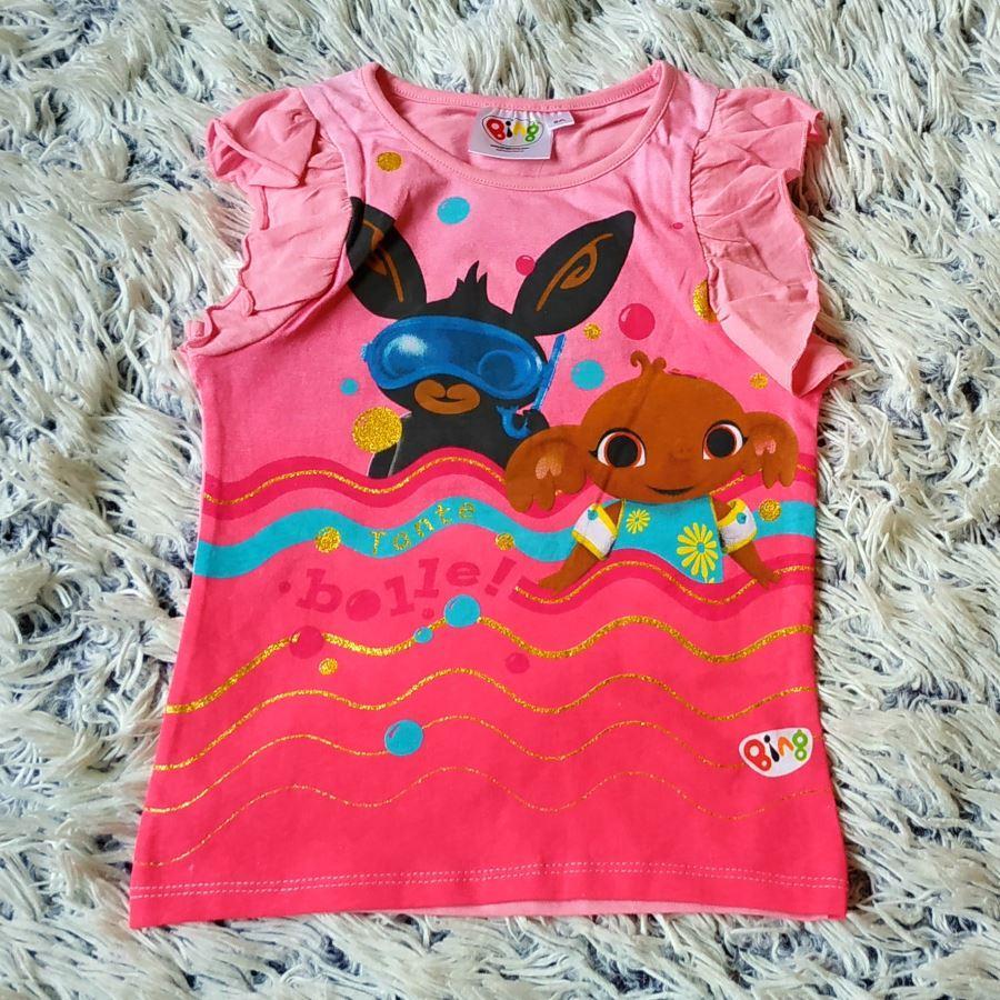 Tričko Bing a Sula růžové