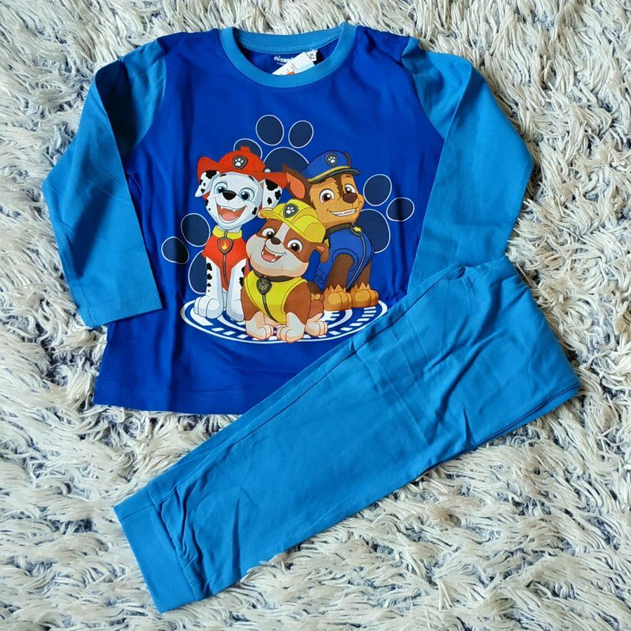 Pyžamo Tlapková Patrola světle modrá