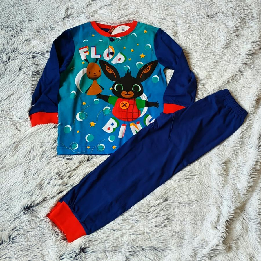Králíček Bing pyžamo modré 98