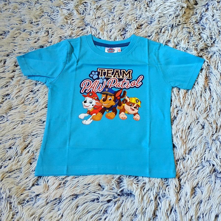 Tlapková Patrola tričko modré
