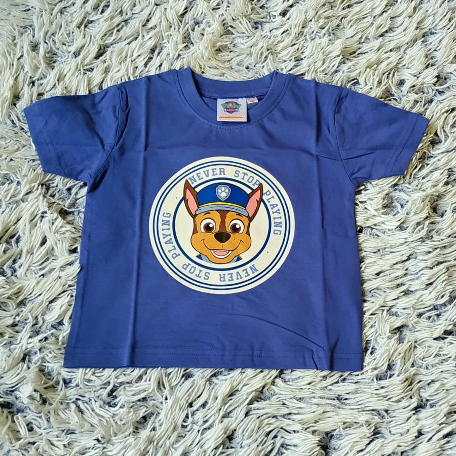 Tlapková Patrola tričko modré 98/104
