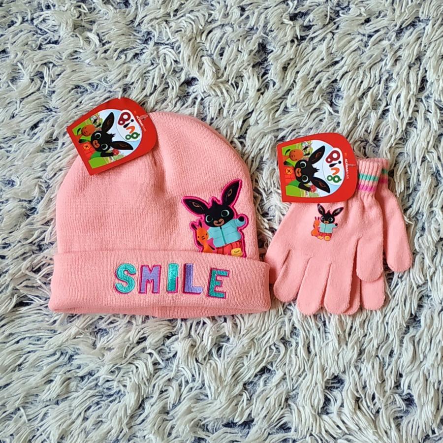 Set Králíček Bing čepice a rukavice  54