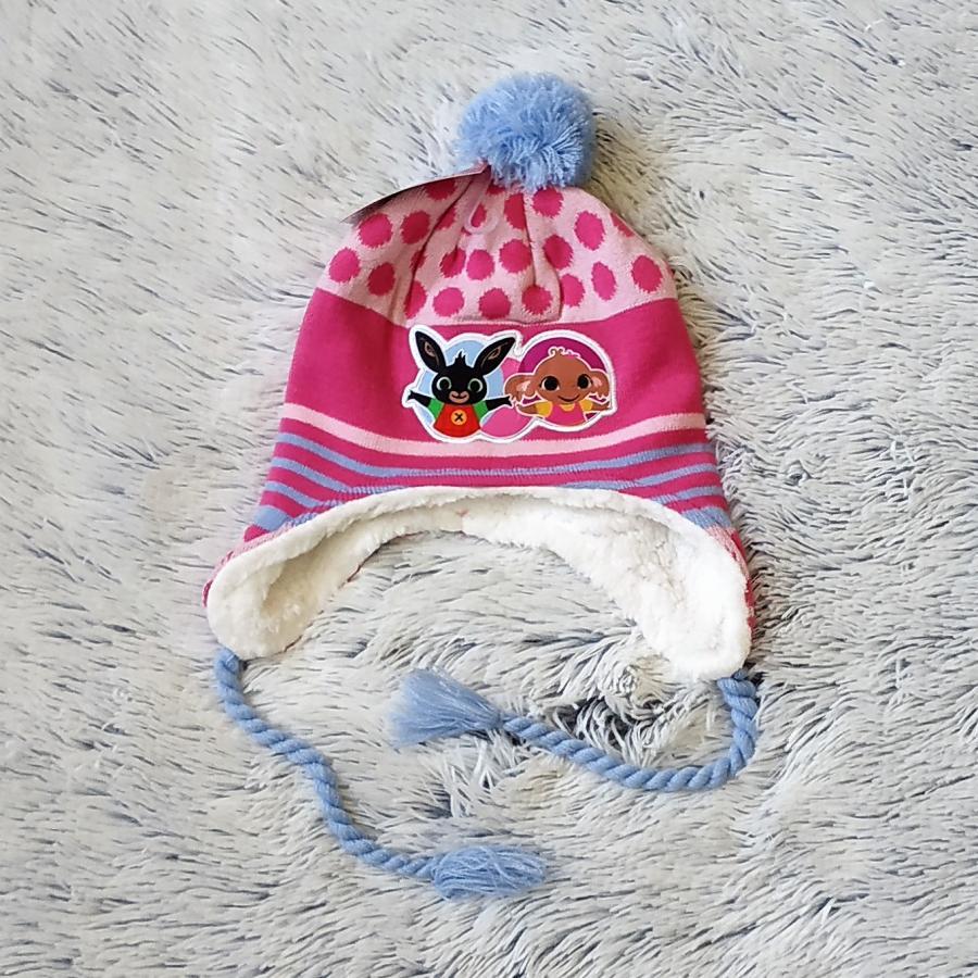 Peru čepice králíček Bing sv. růžová 54
