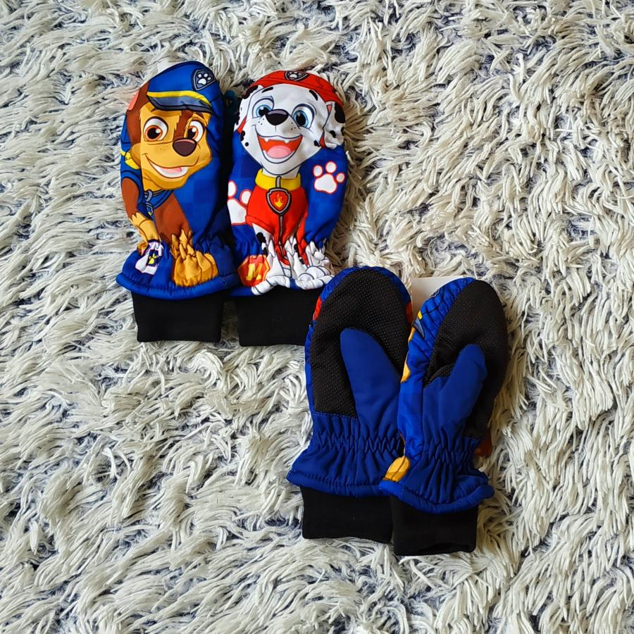 Tlapková Patrola zimní rukavice palčáky