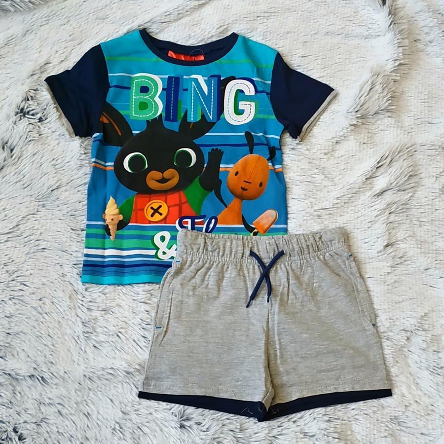 Králíček Bing tričko a kraťasy vel. 110