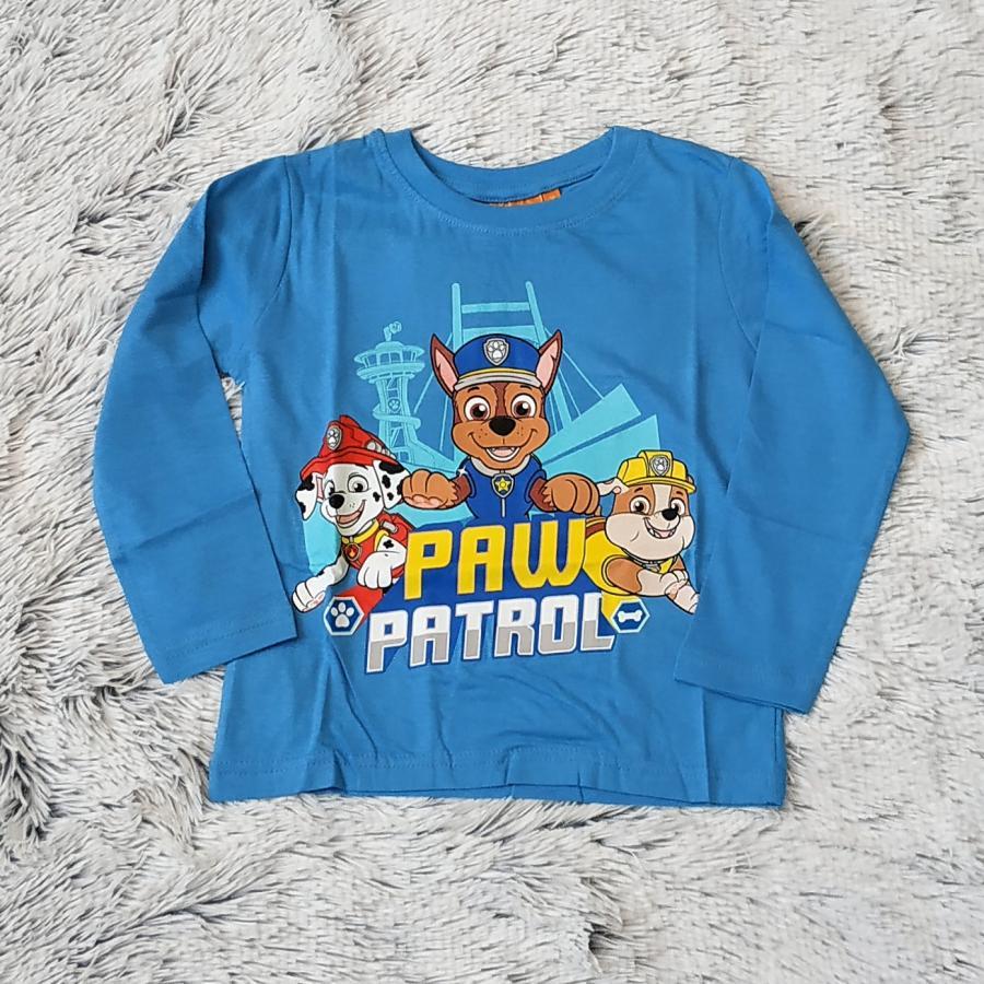 Tlapková Patrola tričko sv. modré vel. 110