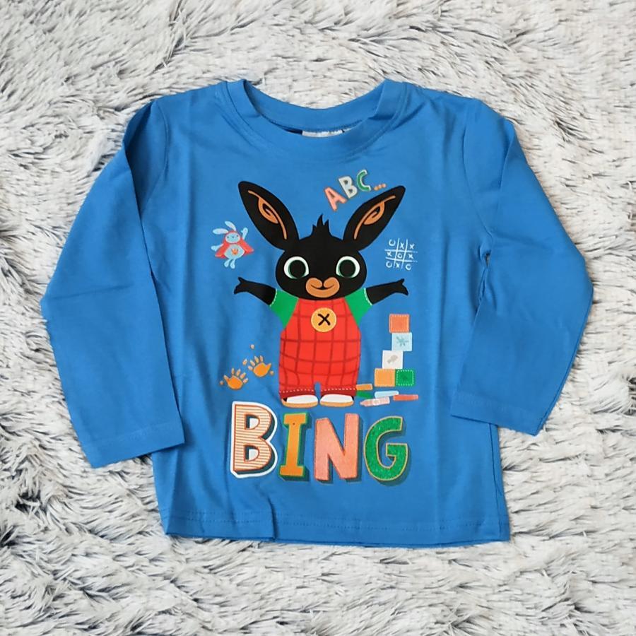 Králíček Bing tričko sv. modré vel. 104
