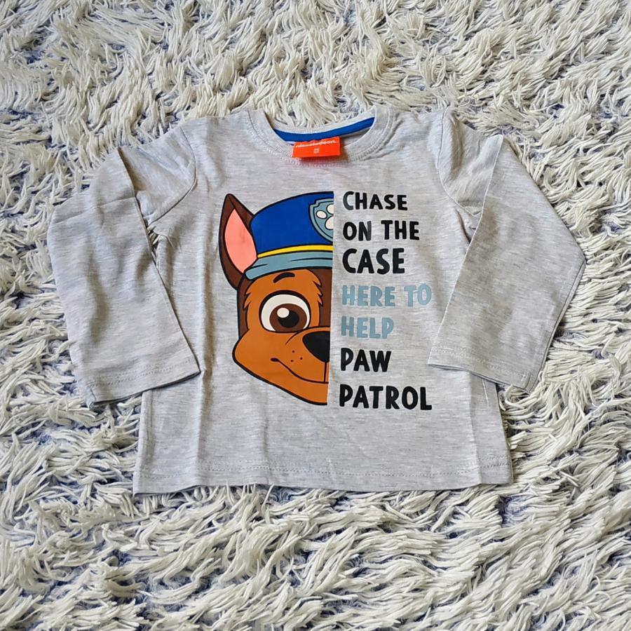 Tlapková Patrola tričko šedé 98