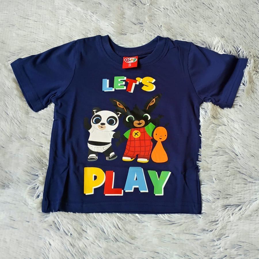 Králíček Bing tričko modré Play 110