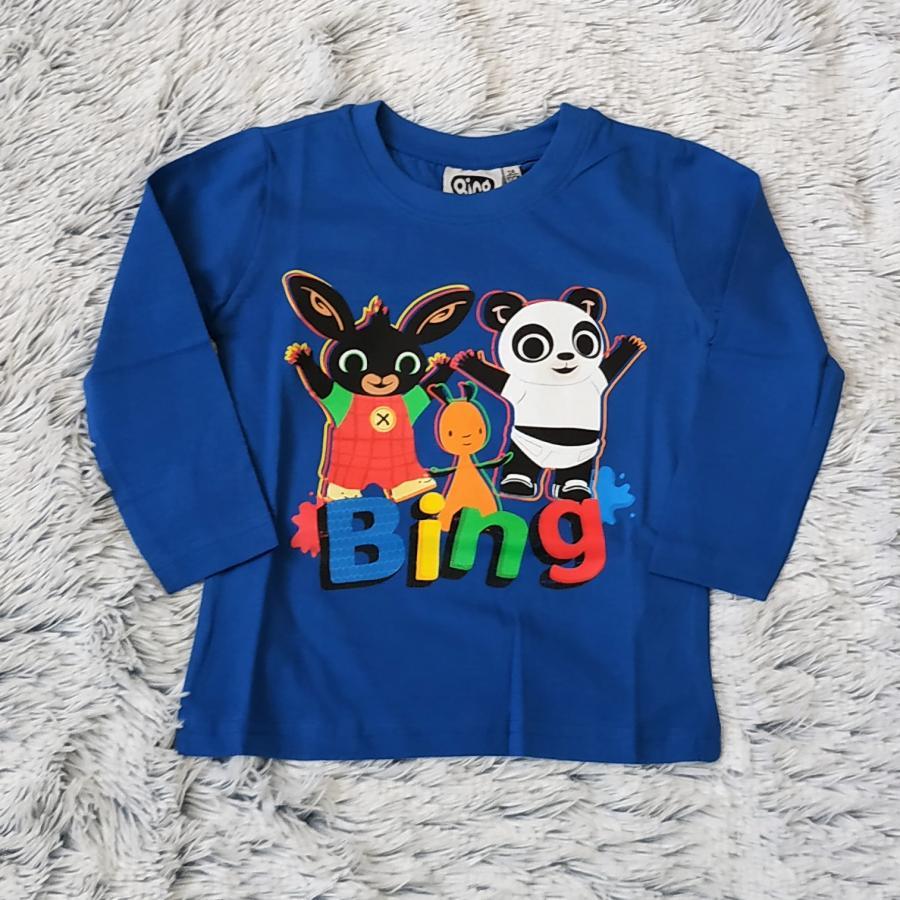 Králíček Bing tričko tm. modré vel. 110