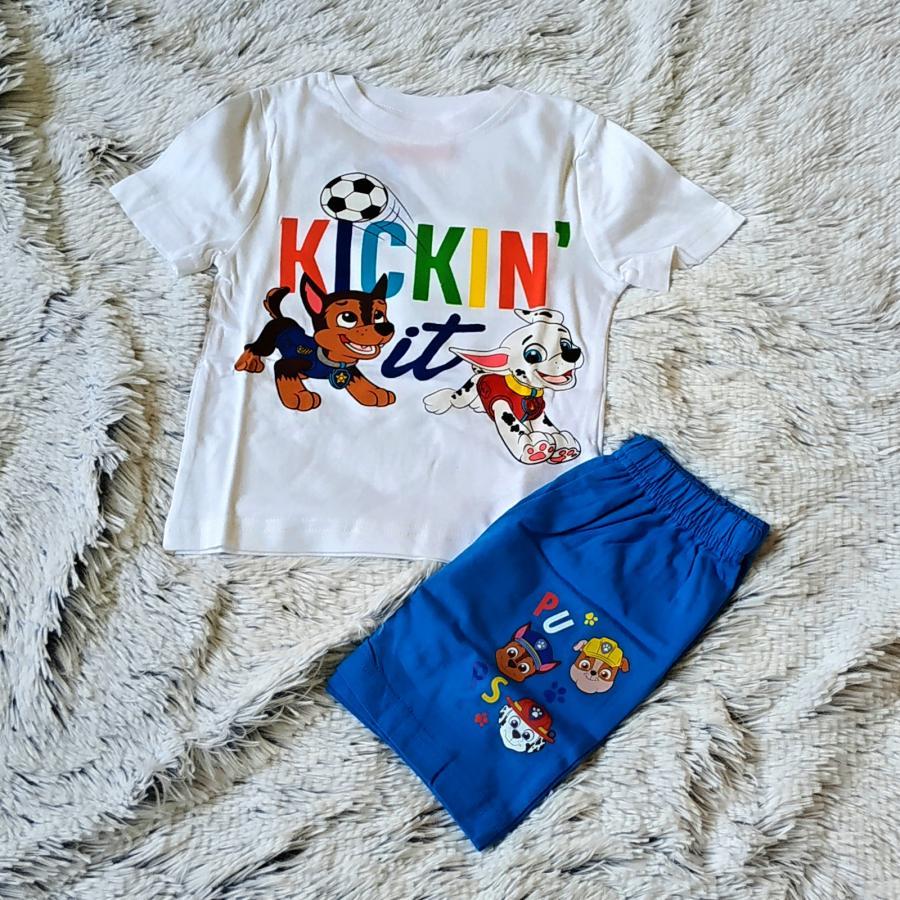Letní pyžamo Tlapková patrola Kickin vel.116