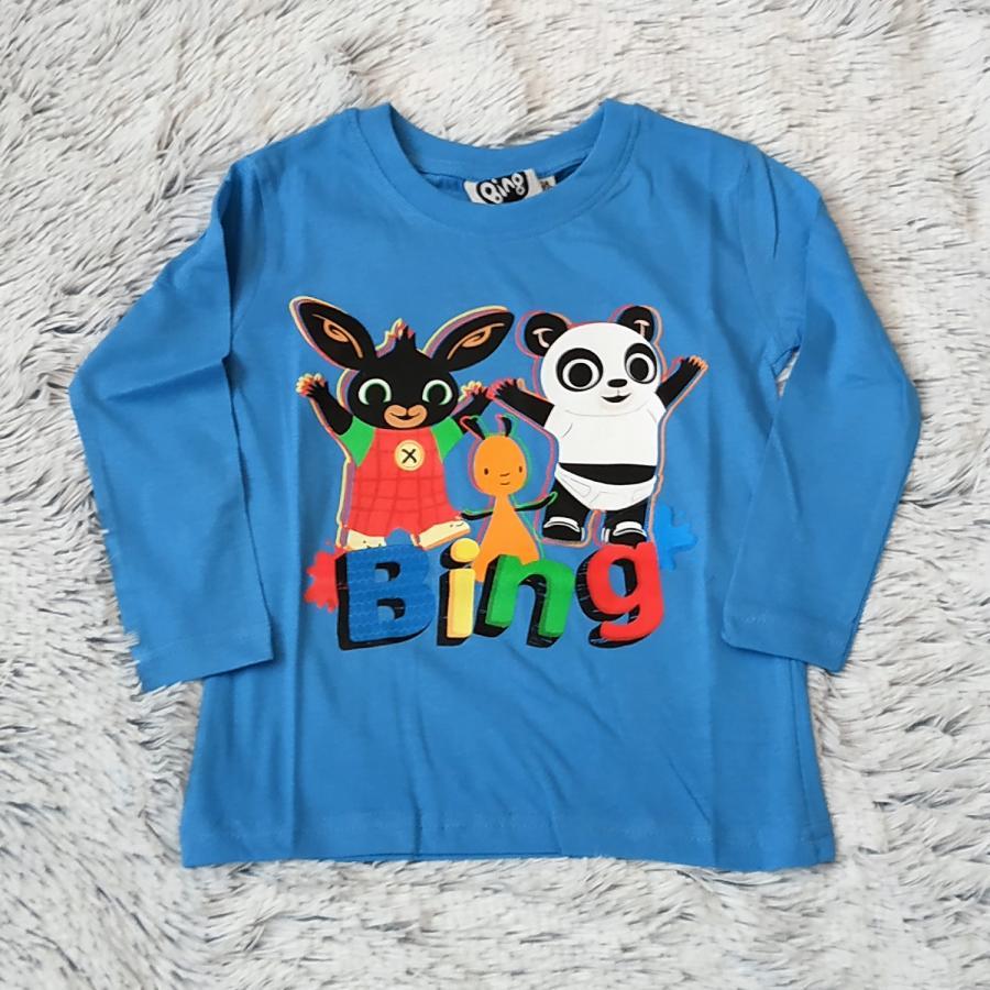 Králíček Bing tričko sv. modré vel. 116