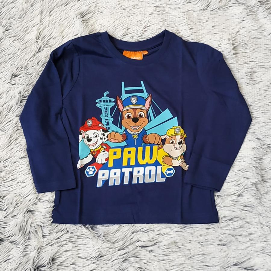 Tlapková Patrola tričko tm. modré vel. 98